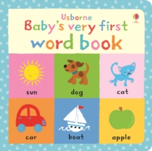 Image for Usborne baby's very first word book