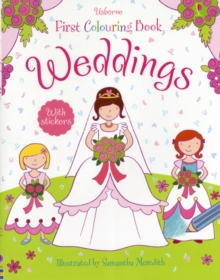 Image for Weddings Colouring Book