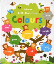 Image for Usborne lift-the-flap colours