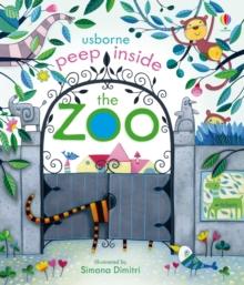Image for Usborne peep inside the zoo