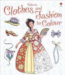 Image for Clothes and Fashion to Colour