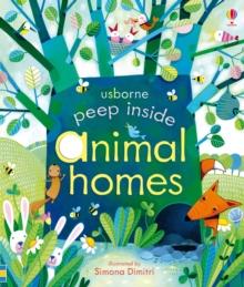 Image for Usborne peep inside animal homes