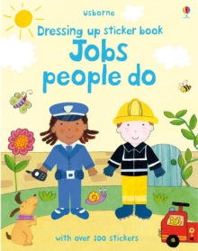 Image for Dressing Up Sticker Book : Jobs People Do