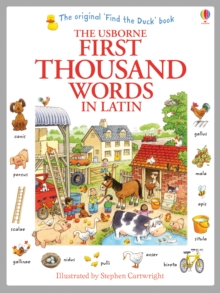 Image for The Usborne first thousand words in Latin