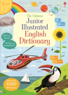Image for The Usborne junior illustrated English dictionary