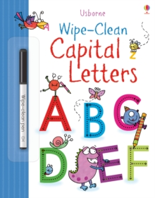 Image for Wipe-clean Capital Letters