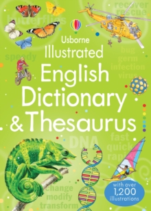 Image for Usborne illustrated English dictionary & thesaurus