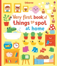 Image for Very first book of things to spot at home