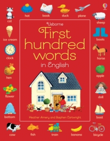 Image for Usborne first hundred words in English