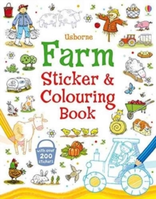 Image for Farm Sticker and Colouring Book