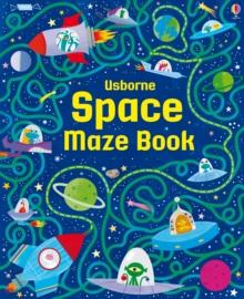 Image for Usborne space maze book