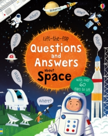 Image for Lift-the-flap questions and answers about space