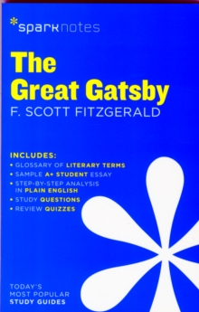 Image for The Great Gatsby SparkNotes Literature Guide
