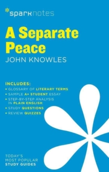 Image for A Separate Peace SparkNotes Literature Guide