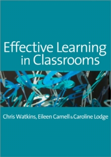 Image for Effective learning in classrooms