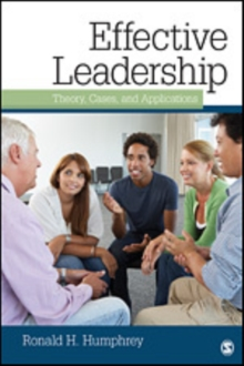 Image for Effective leadership  : theory, cases, and applications