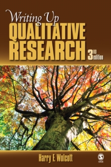 Image for Writing up qualitative research