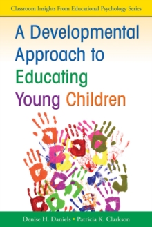 Image for A developmental approach to educating young children