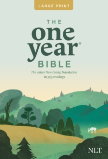 Image for NLT One Year Bible Slimline Large Print PB, The