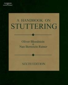 A Handbook on Stuttering