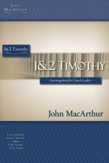 1 & 2 TIMOTHY (Macarthur Study Guide)