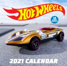 Image for Hot Wheels 2021 Wall Calendar