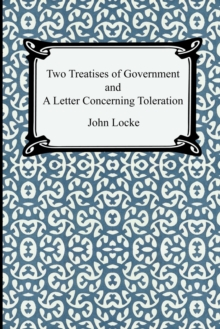 Image for Two Treatises of Government and A Letter Concerning Toleration