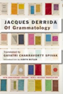 Image for Of grammatology