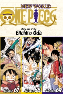 Image for One piece  : new worldVolume 67, volume 68, volume 69