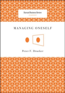 Image for Managing oneself