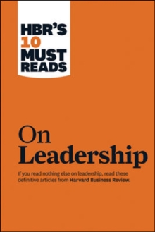 Image for On leadership