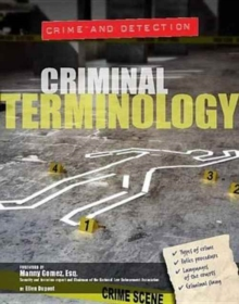 Image for Criminal terminology