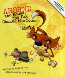 Image for Around the house, the fox chased the mouse  : a prepositional tale