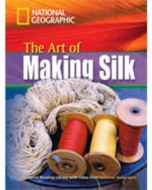 Image for The Art of Making Silk + Book with Multi-ROM : Footprint Reading Library 1600