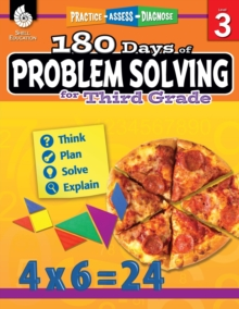 180 Days of Problem Solving for Third Grade – Build Math Fluency with this 3rd Grade Math Workbook (180 Days of Practice)