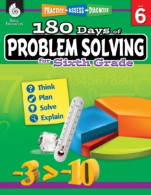 180 Days of Problem Solving for Sixth Grade – Build Math Fluency with this 6th Grade Math Workbook (180 Days of Practice)