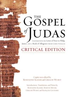 Image for The gospel of Judas  : critical edition
