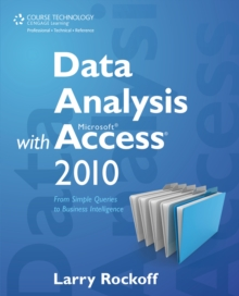 Image for Data analysis with Microsoft Access 2010  : from simple queries to business intelligence