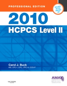 2010 HCPCS Level II (Professional Edition), 1e (HCPCS (American Medical Assn))