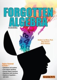 Image for Forgotten algebra