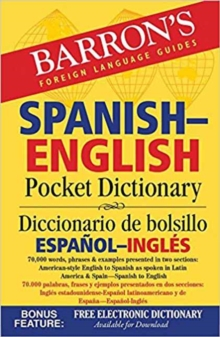 Image for Spanish-English Pocket Dictionary : 70,000 words, phrases & examples