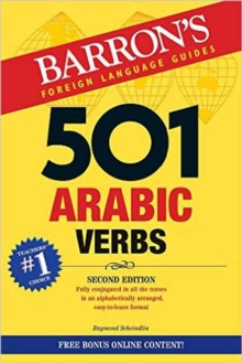 Image for 501 Arabic verbs