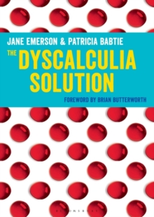 Image for The dyscalculia resource book  : resources for making sense of number