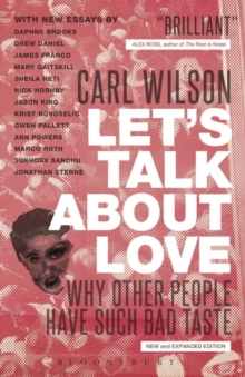 Image for Let's talk about love  : why other people have such bad taste