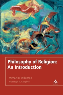 Image for Philosophy of religion  : an introduction