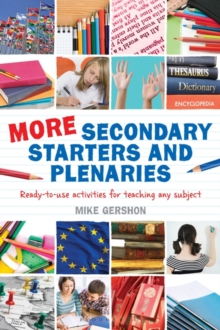 Image for All new classroom starters and plenaries  : creative cross-curricular activities for teaching 11-19