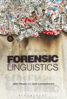 Image for Forensic linguistics