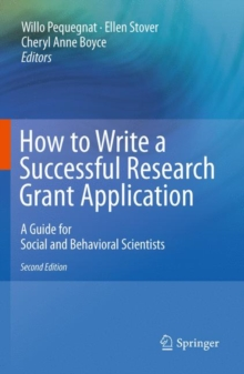 Image for How to Write a Successful Research Grant Application : A Guide for Social and Behavioral Scientists