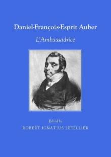 Image for Daniel Francois-Esprit Auber : L'Ambassadrice