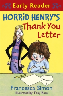 Horrid Henry's thank you letter - Simon, Francesca
